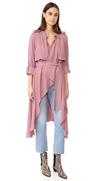 Line & Dot Robaina Trench Coat