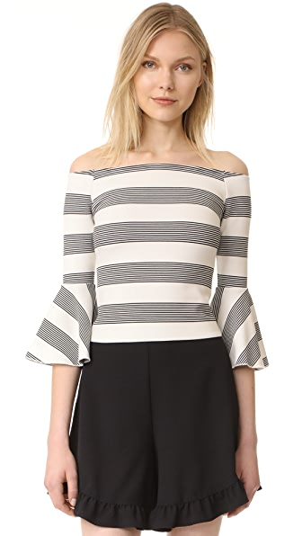 Line & Dot Ella Off the Shoulder Top