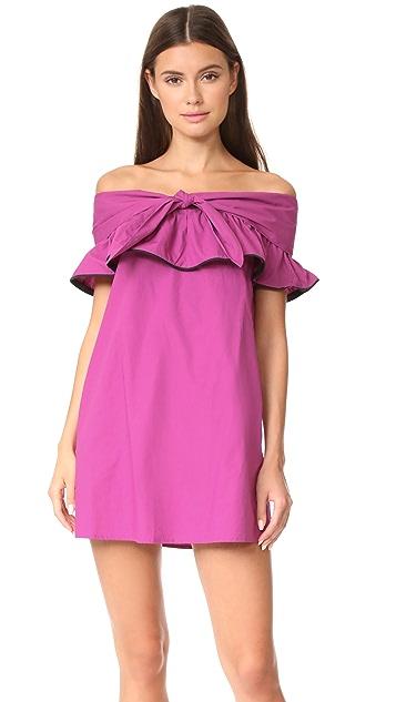 Line & Dot Lorena Off the Shoulder Dress