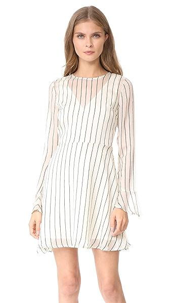 Line & Dot Jacqui Dress - Ivory
