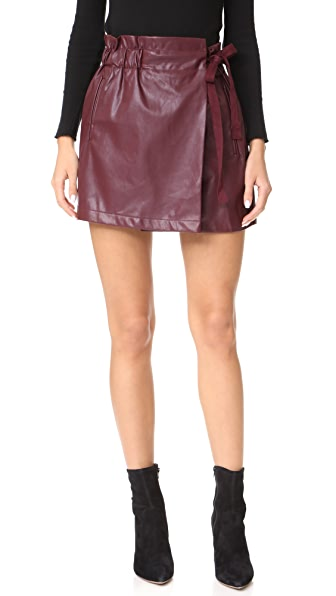 Line & Dot Diane Shorts - Purple