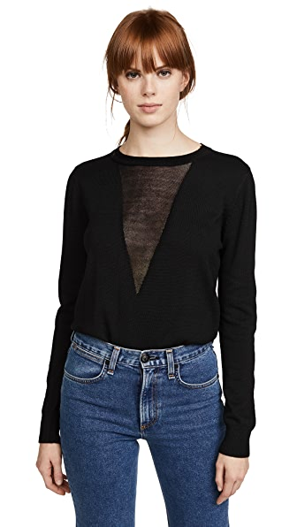 MIA CONTRAST SWEATER