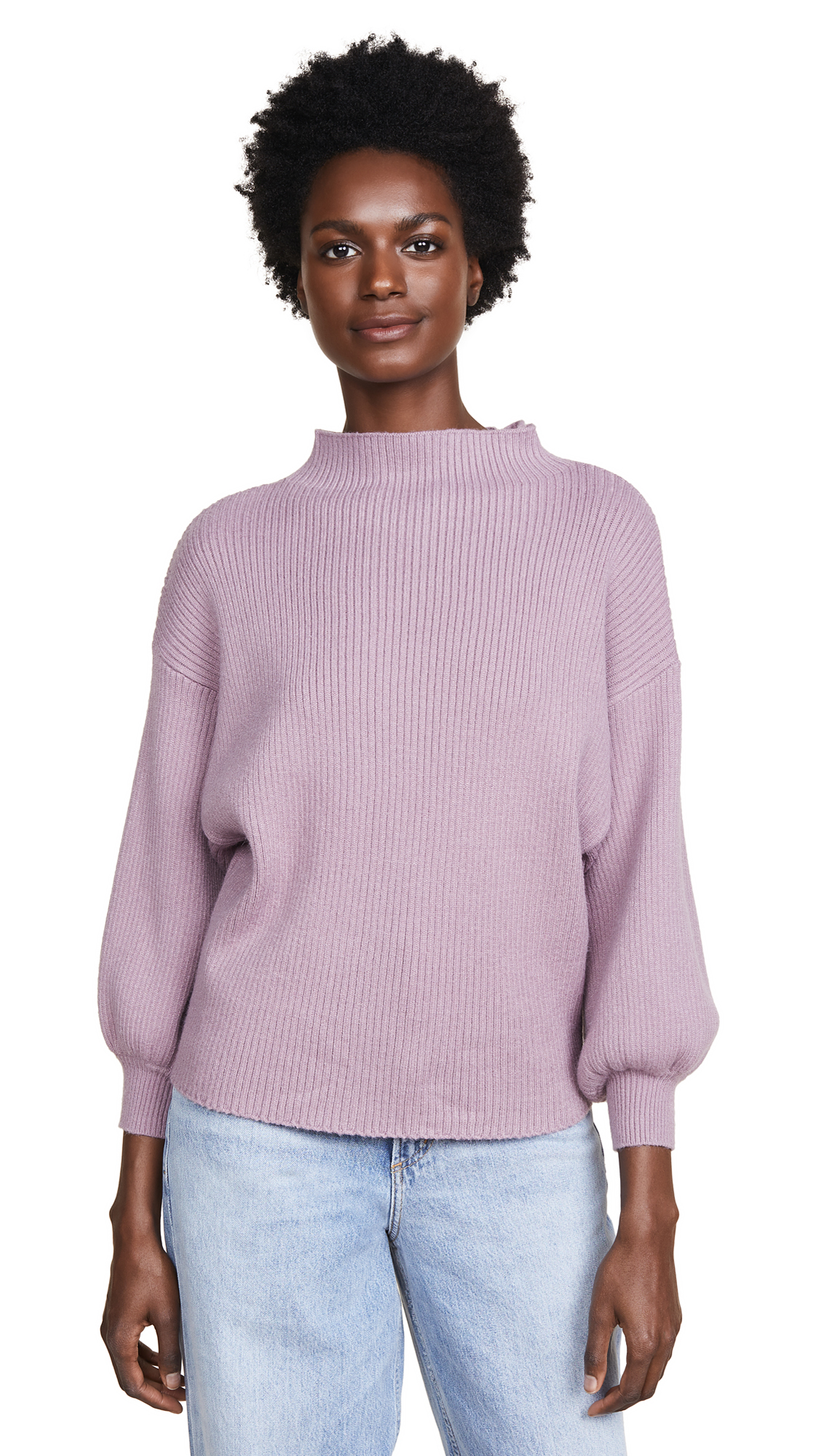 LINE & DOT Alder Sweater in Lilac