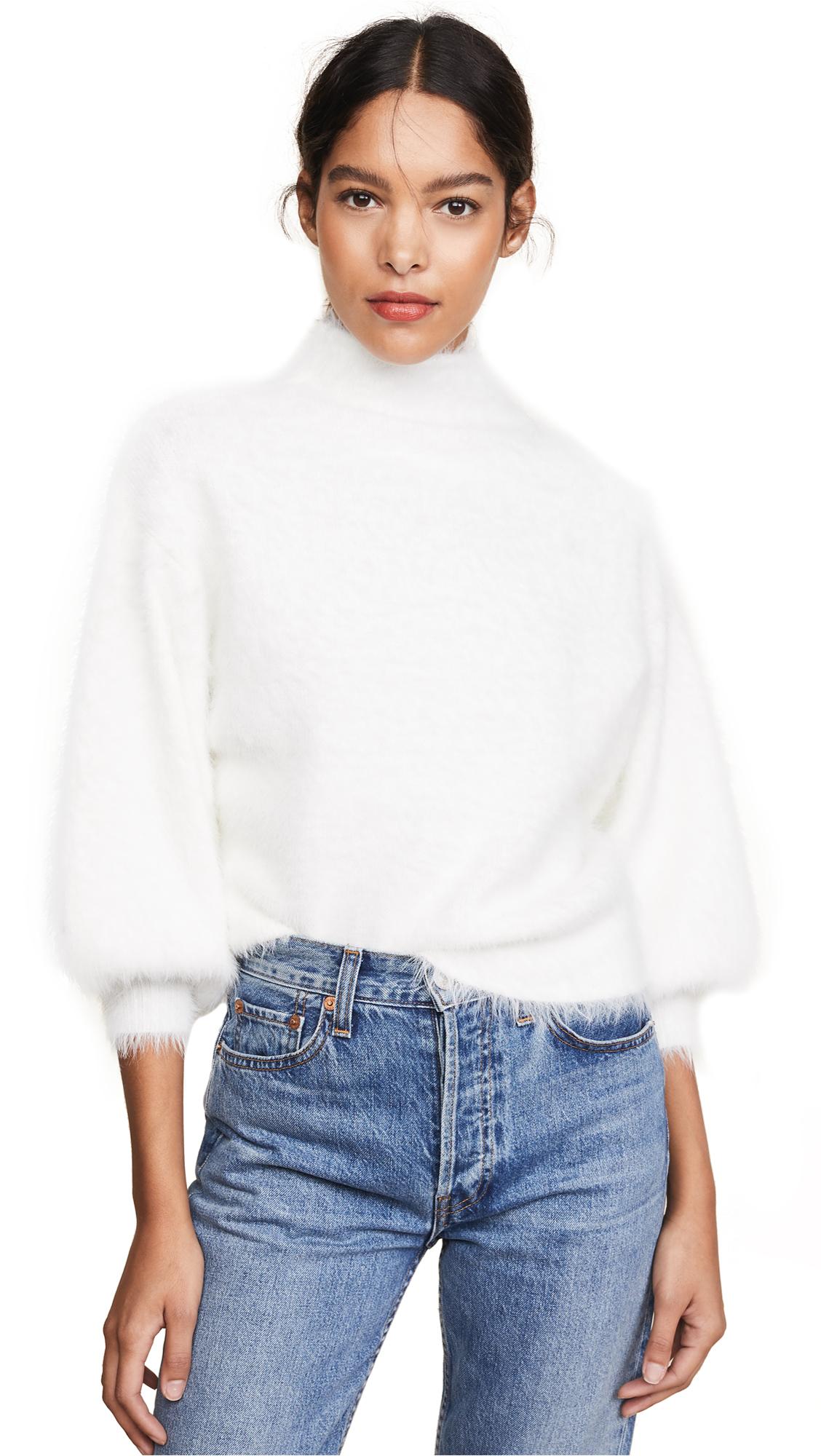 Buy Line & Dot online - photo of Line & Dot Fuzzy Alder Sweater