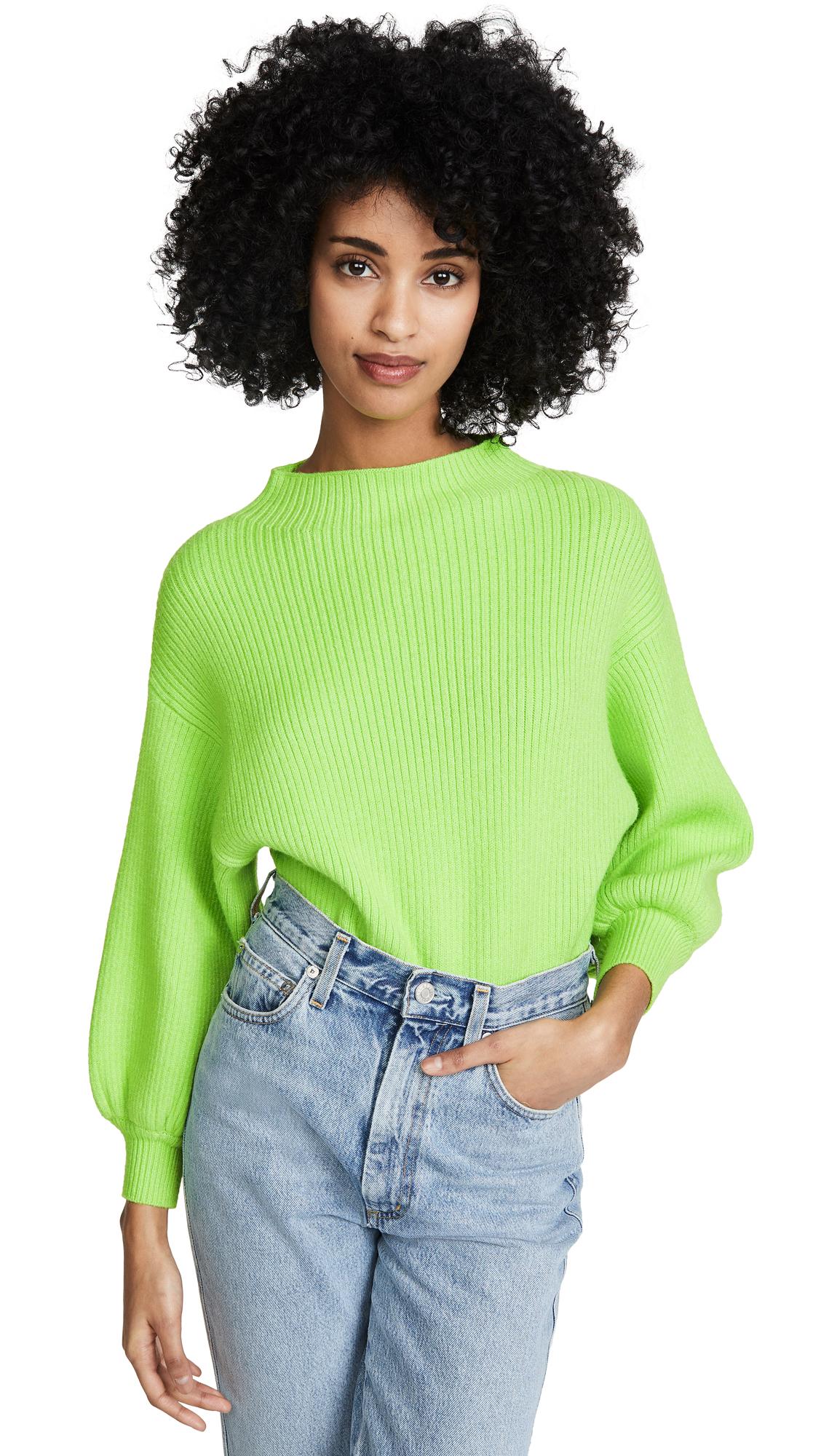 Buy Line & Dot online - photo of Line & Dot Neon Alder Sweater