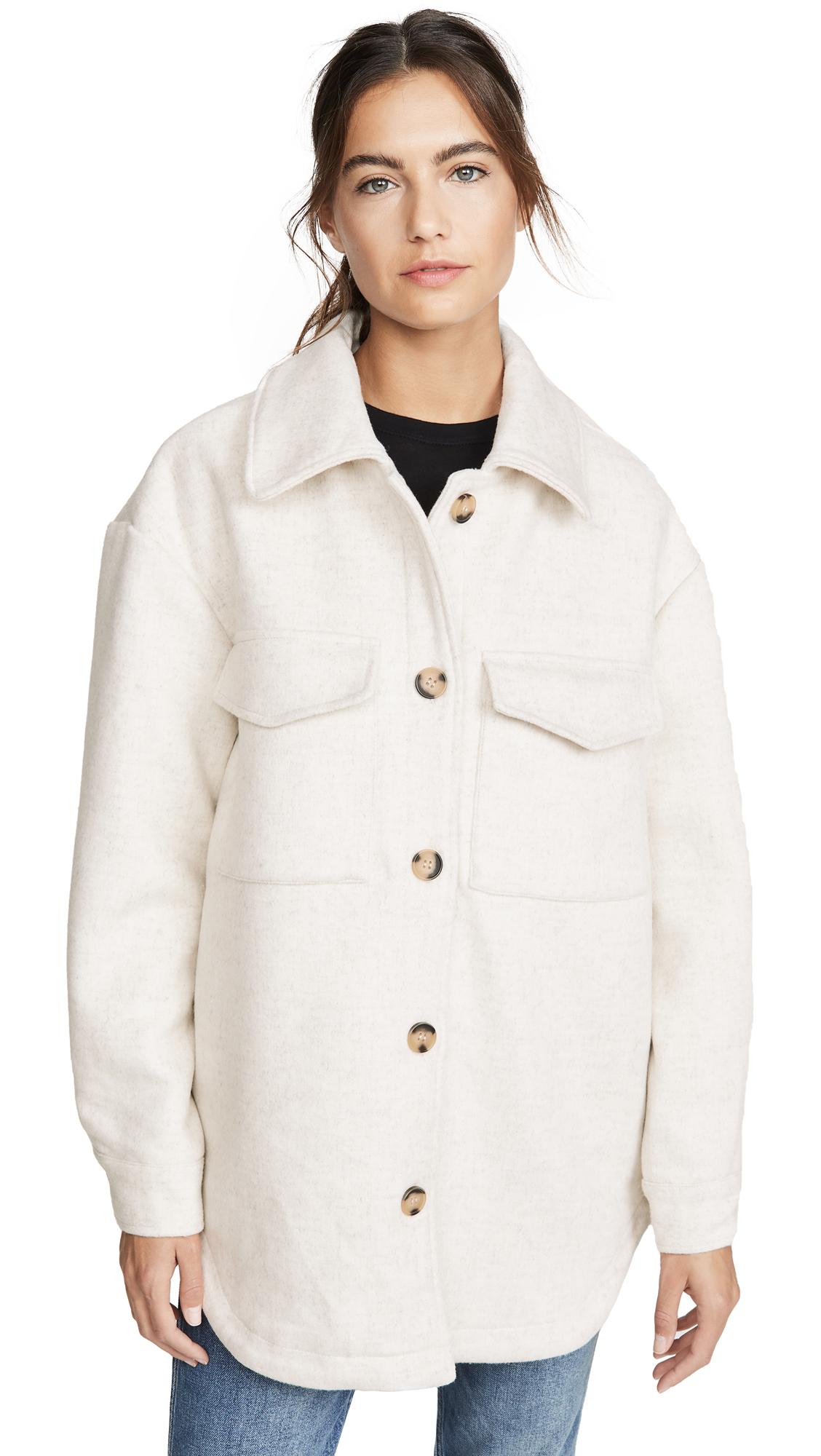 Buy Line & Dot Drew Wool Blend Jacket online beautiful Line & Dot Jackets, Coats, Coats