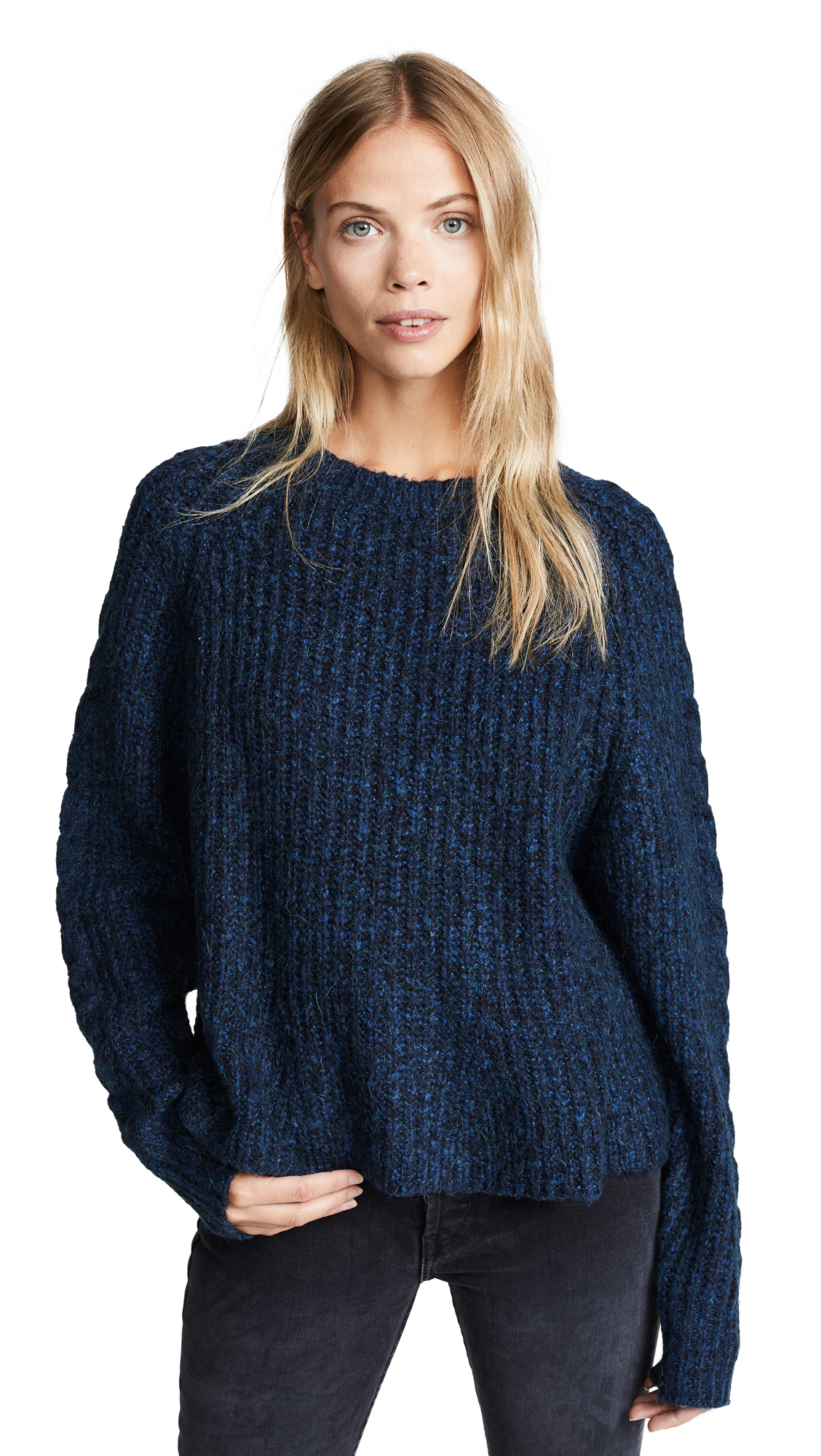LINE Ainsley Sweater In Sapphire