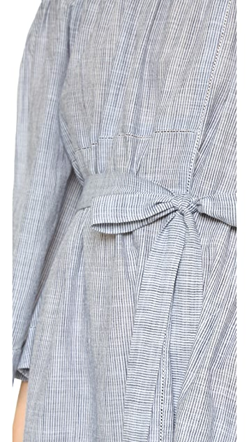 Lisa Marie Fernandez Patchwork Dress