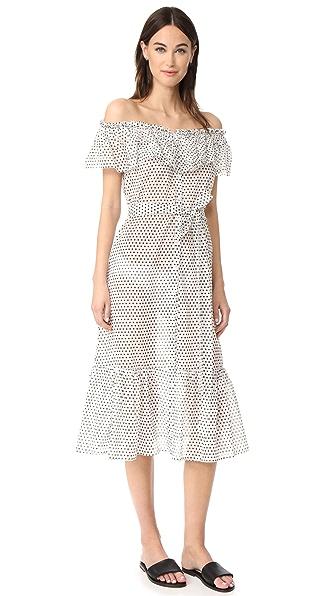 Lisa Marie Fernandez Mira Button Down Sheer Dress