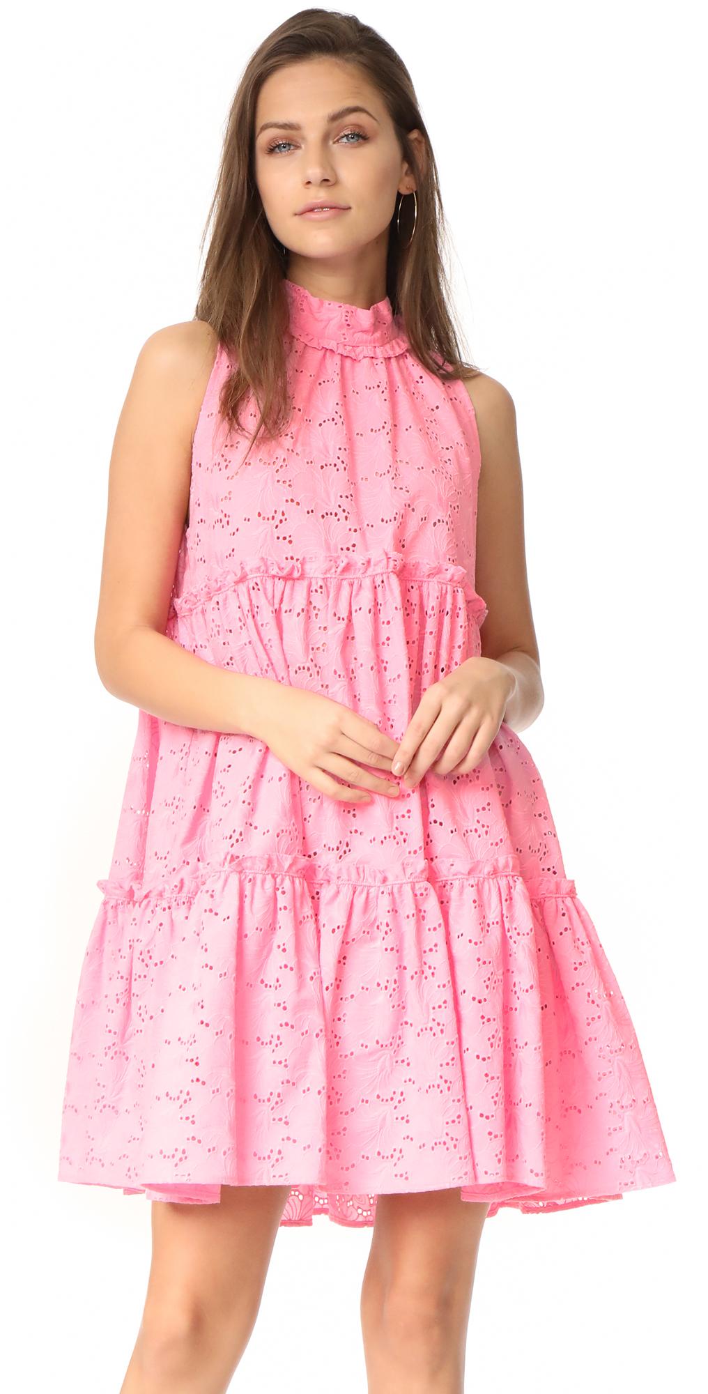 Mini Ruffle Tier Dress Lisa Marie Fernandez