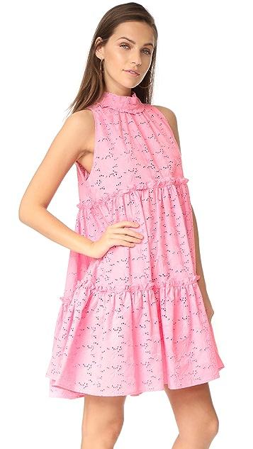 Lisa Marie Fernandez Mini Ruffle Tier Dress