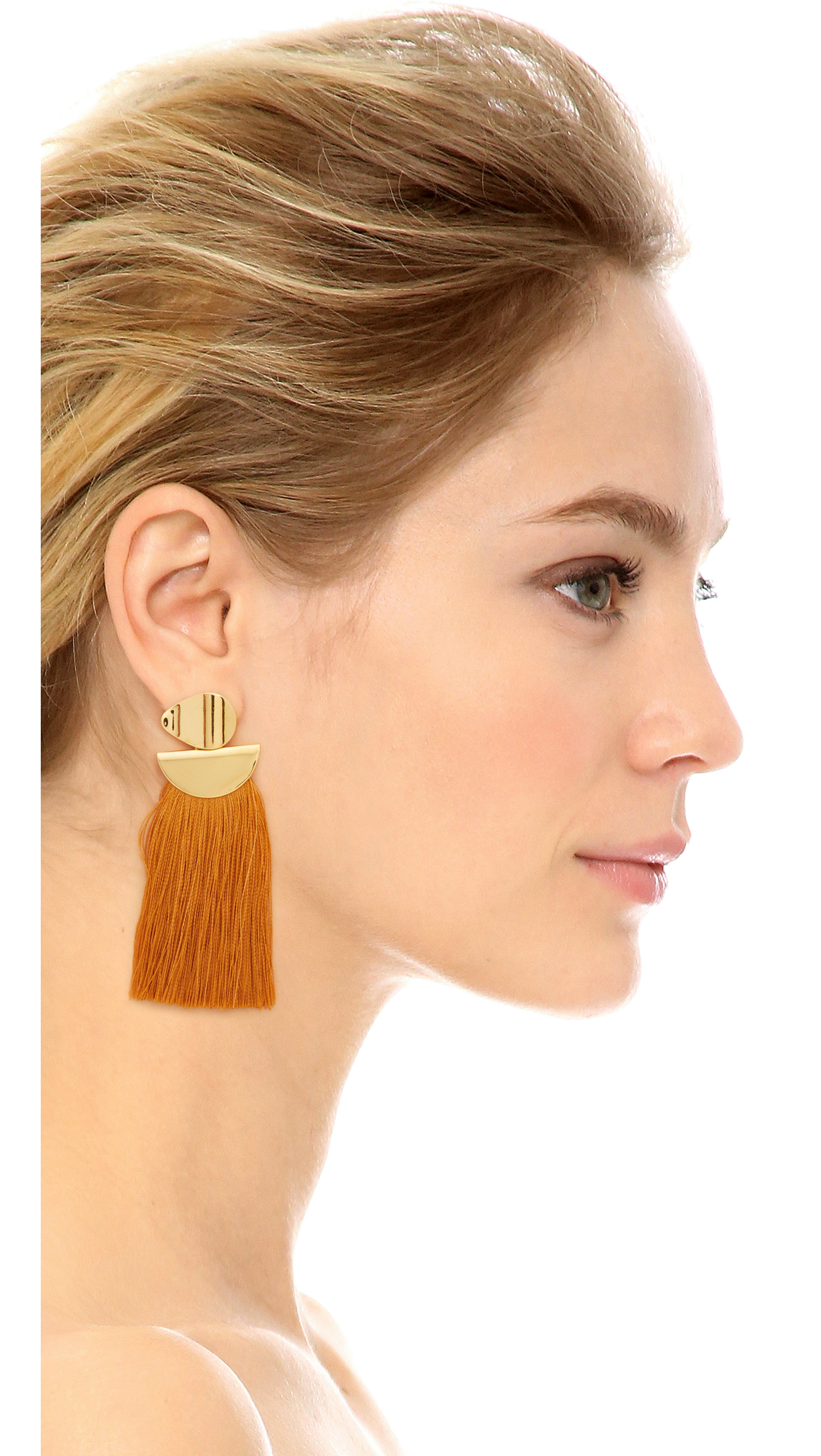 Lizzie Fortunato Crater tassel earrings LnkYTvQz