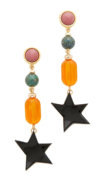 Lizzie Fortunato Retro Holiday Earrings