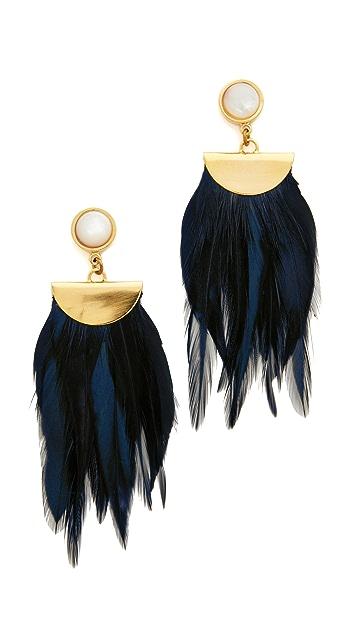 Lizzie Fortunato Parrot Earrings