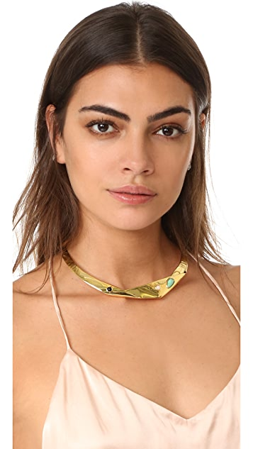 Lizzie Fortunato Organic Knot Collar Necklace