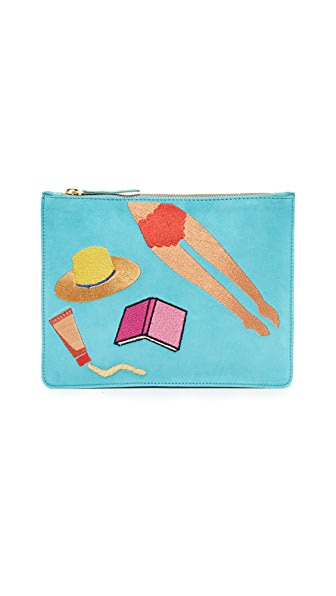 Lizzie Fortunato Sunbather Zip Pouch