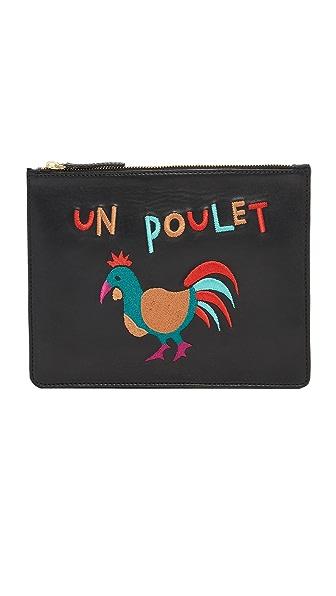 Lizzie Fortunato Un Poulet Zip Pouch