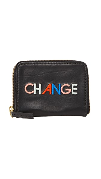 Lizzie Fortunato Change Zip Coin Purse