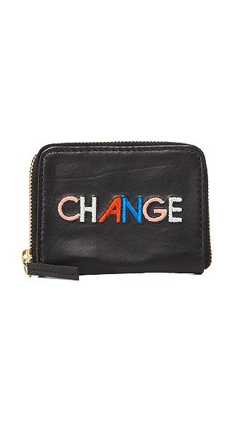 Lizzie Fortunato Change Zip Coin Purse