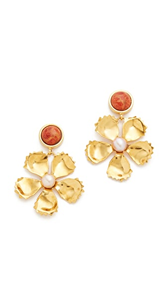 Lizzie Fortunato Simple Daisy Earrings