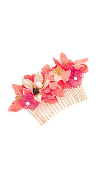 Lizzie Fortunato Tropical Flower Hair Comb