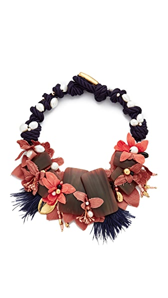 Lizzie Fortunato Flora & Fauna Necklace