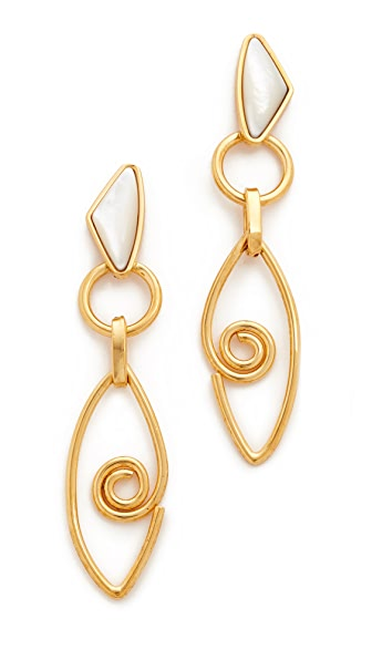 Lizzie Fortunato Divine Eye Earrings