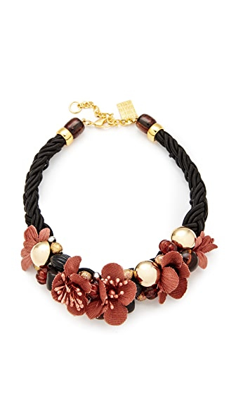 Lizzie Fortunato Desert Rose Necklace - Black Multi