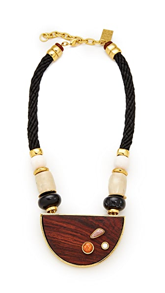 Lizzie Fortunato Noble Surer II Necklace In Black Multi