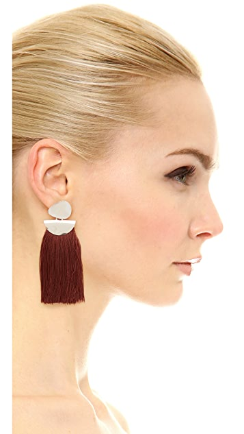 Lizzie Fortunato Crater Earrings