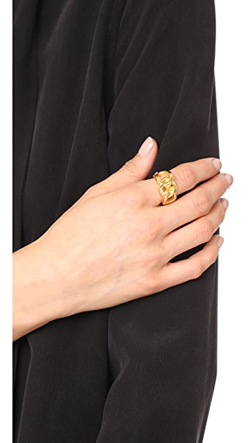 Lizzie Fortunato Double Knot Ring