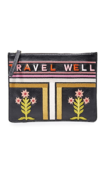 Lizzie Fortunato Zip Pouch - Travel Well