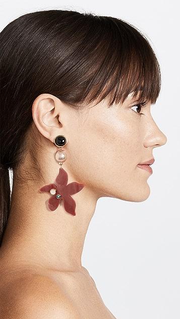 Lizzie Fortunato Portugal Poppy Earrings