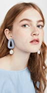 Lizzie Fortunato Blue Oasis Earrings
