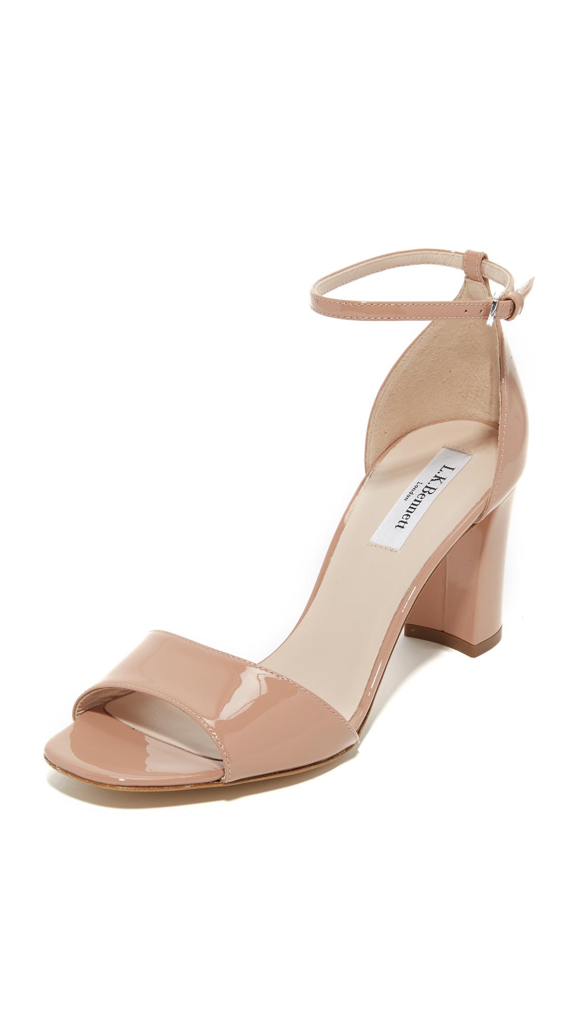 L K Bennett Helena Sandals Fawn Shoes Online Shopping At