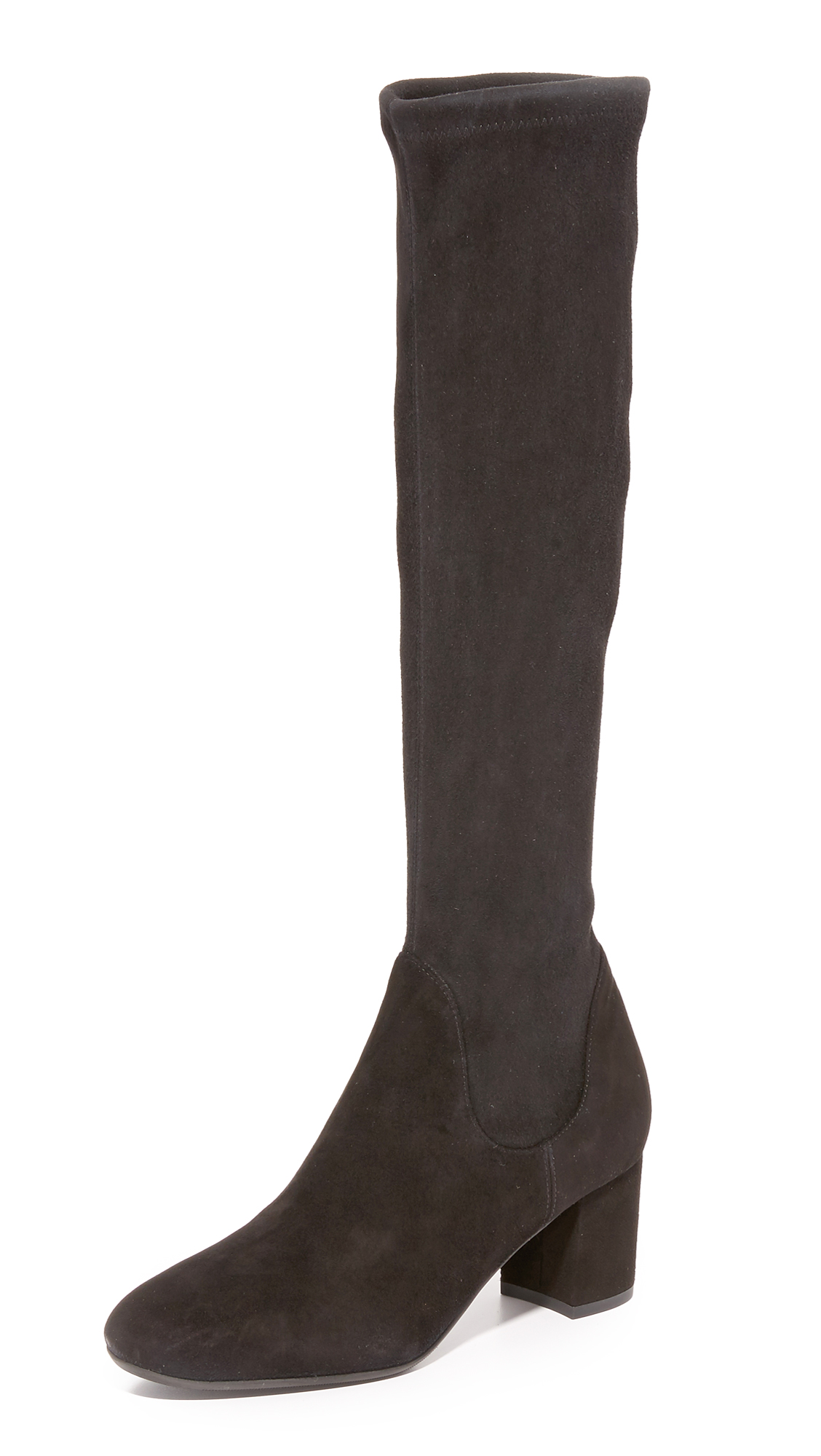L.K. Bennett Keri Tall Boots - Black