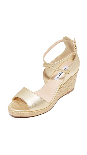 L.K. Bennett Nellie Wedges - Soft Gold