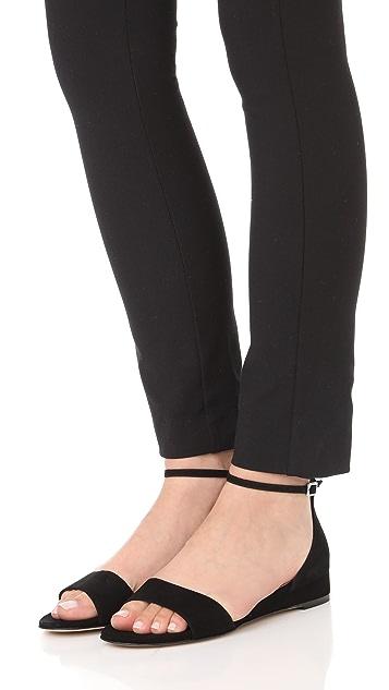 L.K. Bennett Cai Demi Wedge Sandals