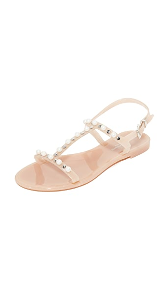 L.K. Bennett Freja Jelly Sandals - Marshmellow