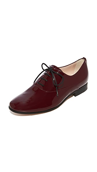 L.K. Bennett Isabelle Oxfords - Oxblood