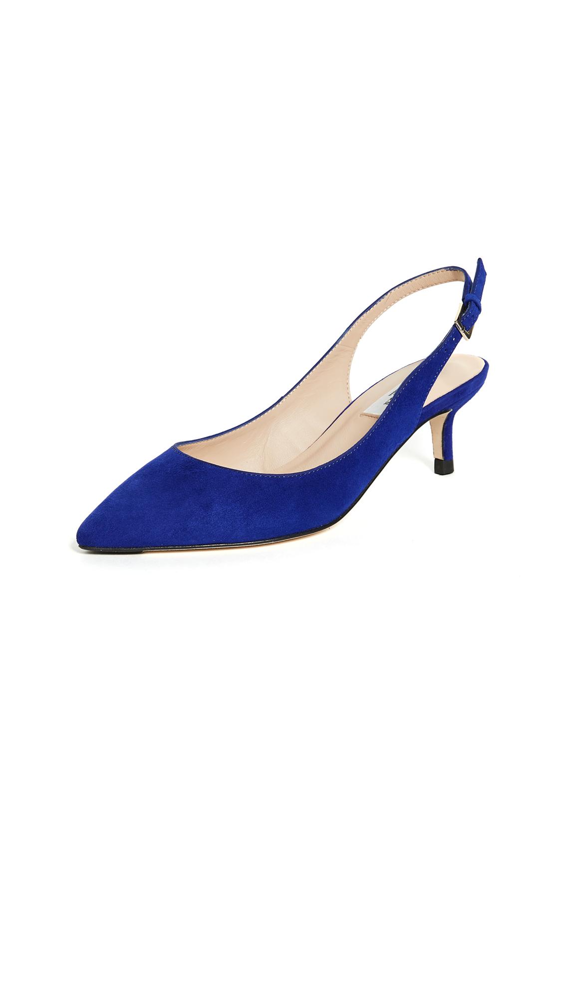 L.K. Bennett Ava Slingback Pumps - Ultra Blue