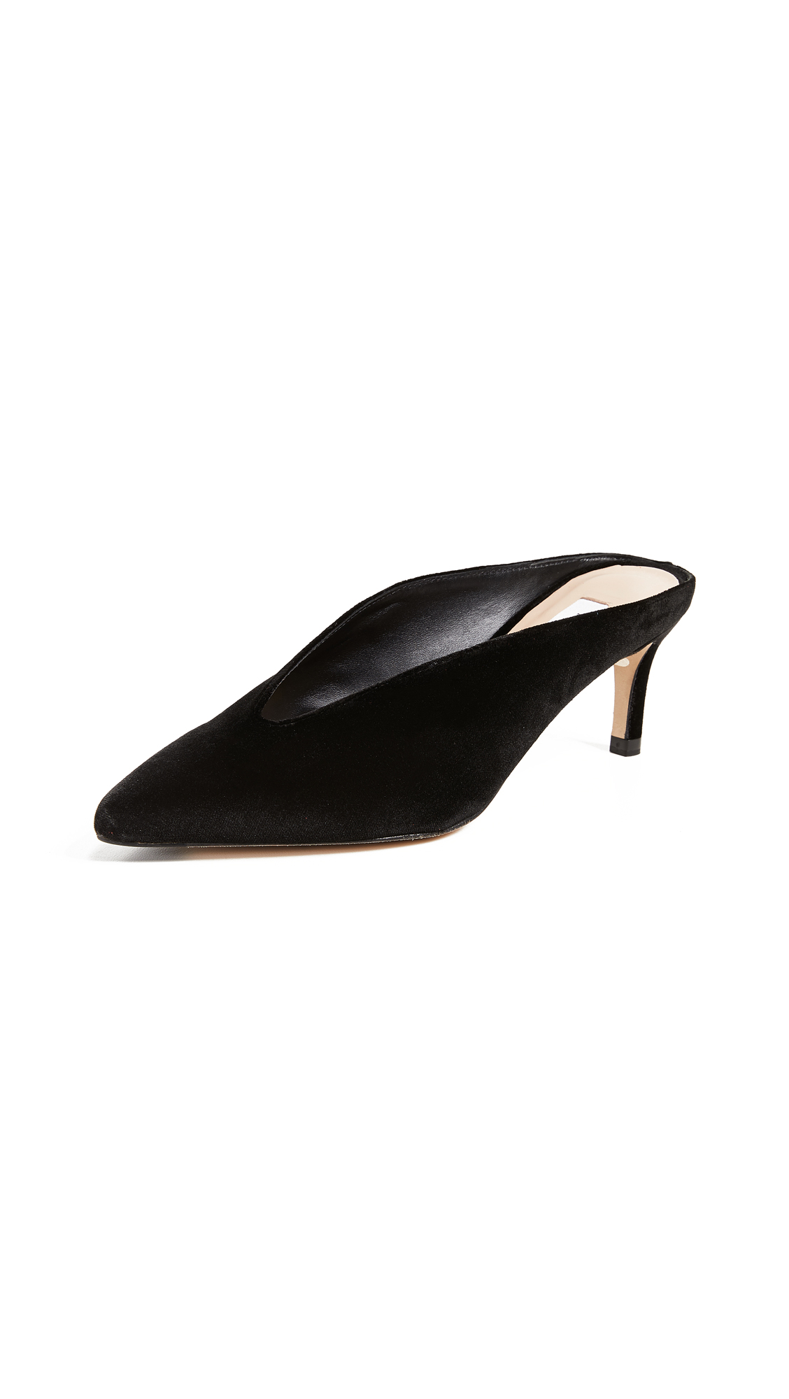 CELIA HIGH VAMP MULES