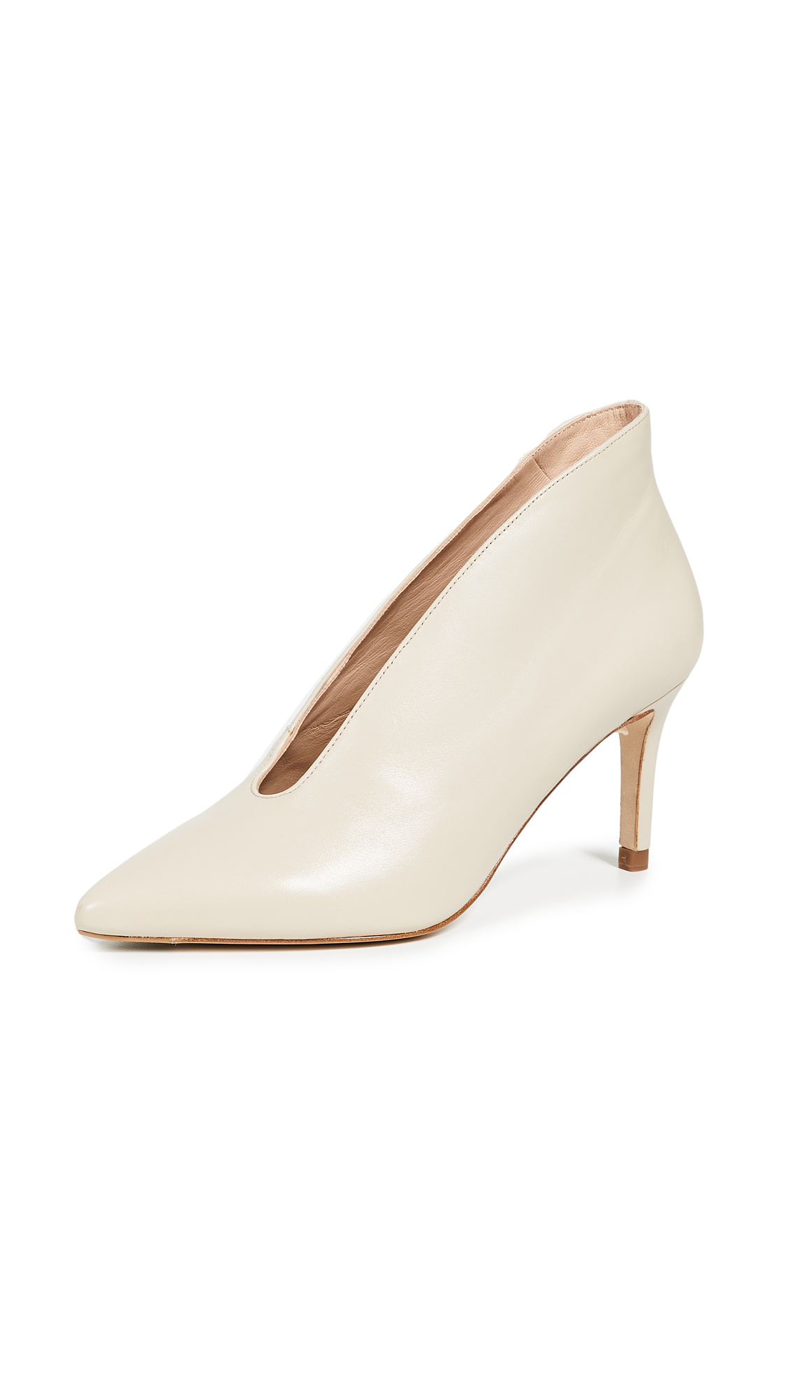L.K. Bennett Corrina Point Toe Pumps - Bone