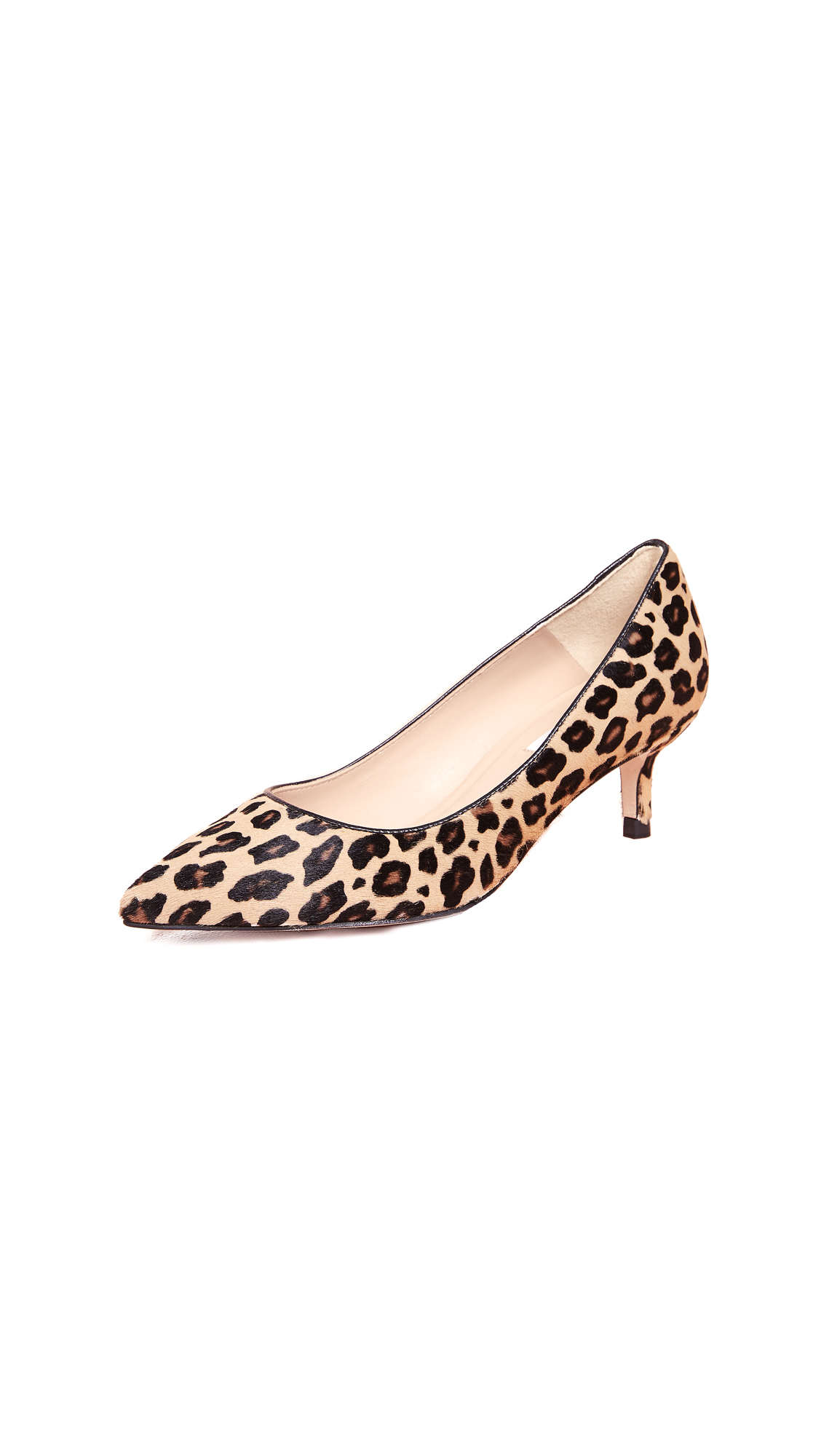 L.K. Bennett Audrey Point Toe Pumps - Natural Leopard