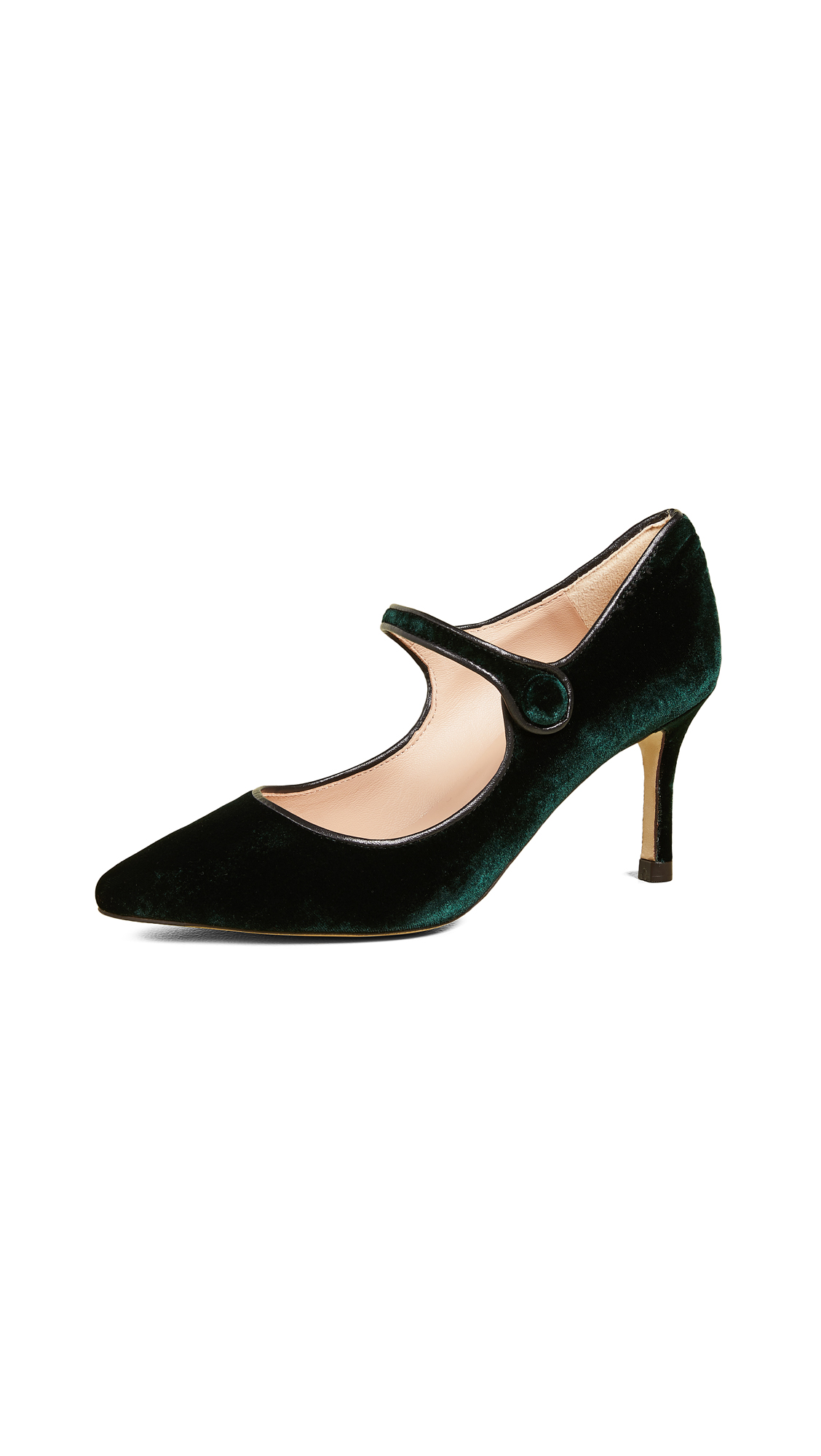 L.K. Bennett Monica Mary Jane Pumps - Ivy Green