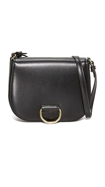 Little Liffner D Saddle Medium Bag - Black