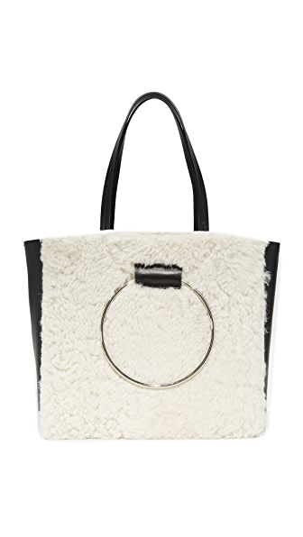 Little Liffner Ring Tote - Shearling