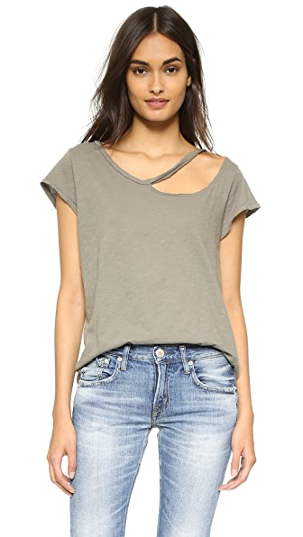 LNA Desert Ripped Neck Tee