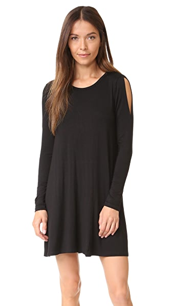 LNA Lucia Dress - Black