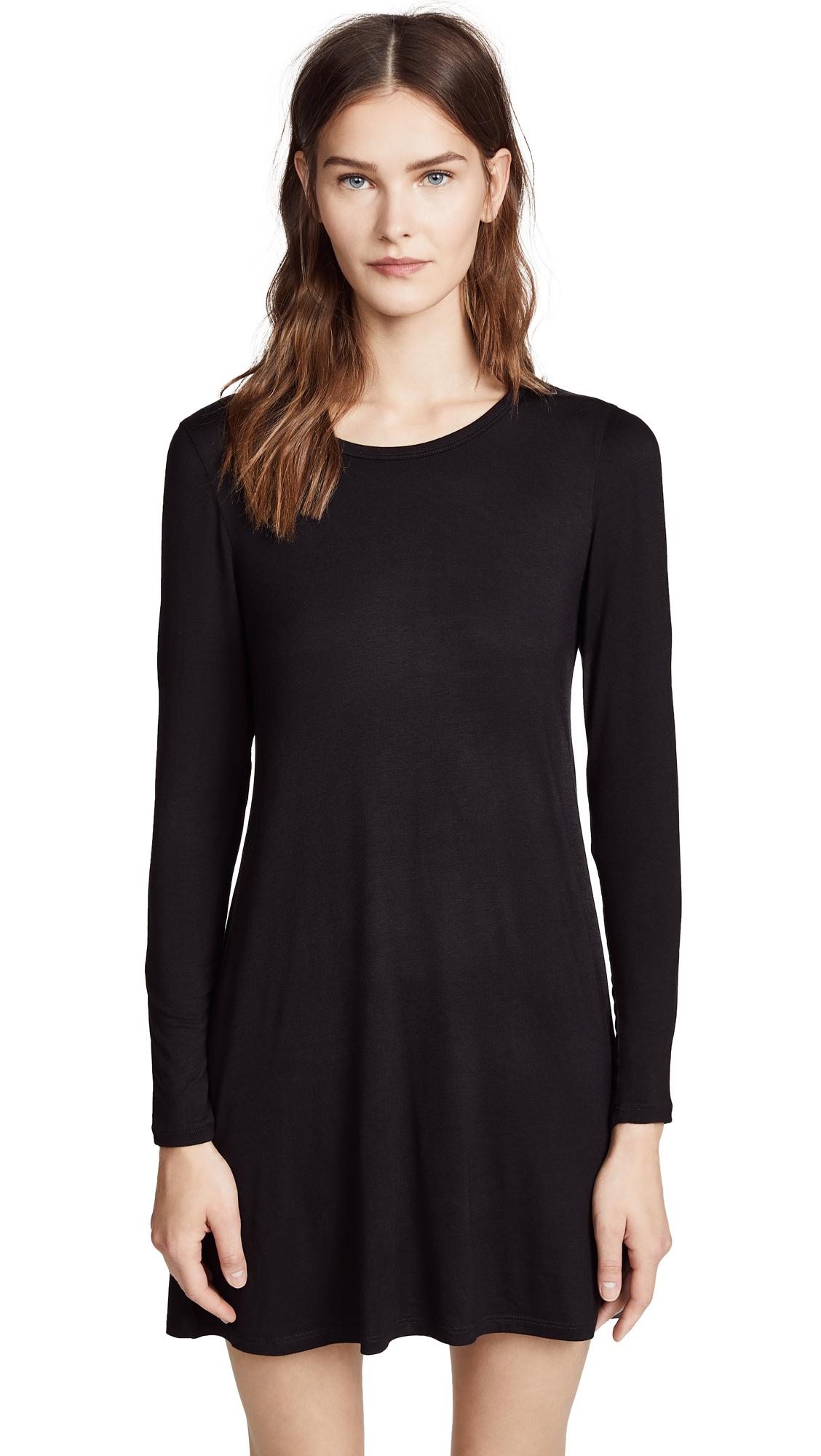 LNA Lucia Dress - Black